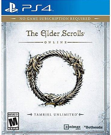 Jogo PS4 Usado The Elder Scrolls Online: Tamriel Unlimited