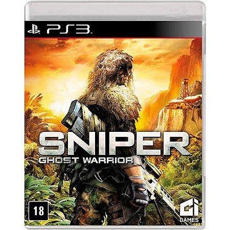 Jogo PS3 Usado Sniper Ghost Warrior