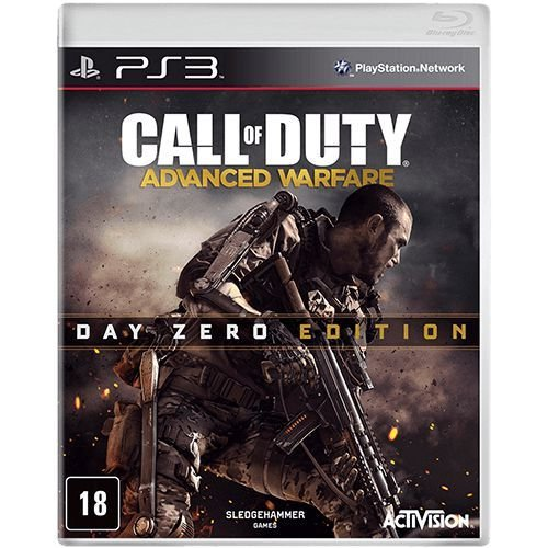 Jogo PS3 Usado Call of Duty Advanced Warfare Edição Day Zero