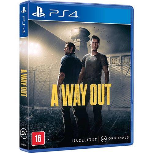 Jogo PS4 Usado A Way Out