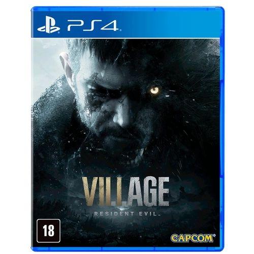 Jogo PS4 Novo Resident Evil Village (Pré-Venda)