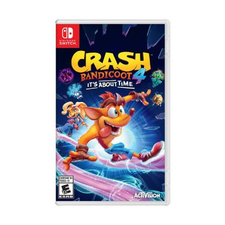 Jogo Switch Novo Crash Bandicoot 4: It's About Time