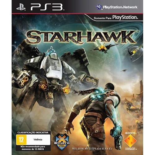 Jogo PS3 Usado Starhawk
