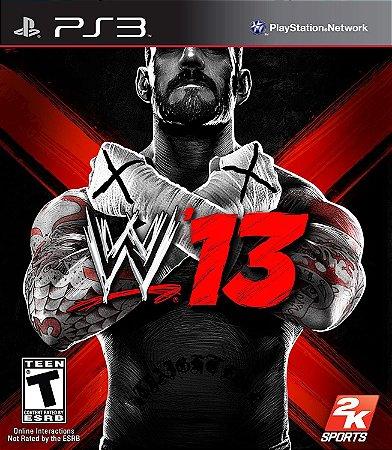 Jogo PS3 Usado WWE 13