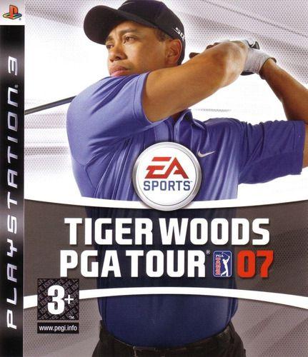Jogo PS3 Usado Tiger Woods PGA Tour 07