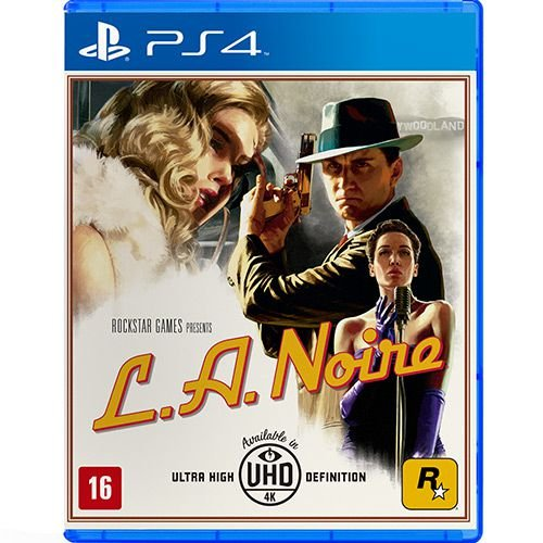 Jogo PS4 Usado L.A Noire