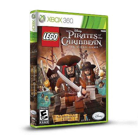 Jogo XBOX 360 Usado LEGO Piratas do Caribe