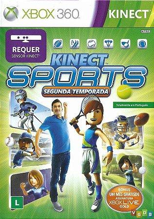 Jogo XBOX 360 Usado Kinect Sports Segunda Temporada