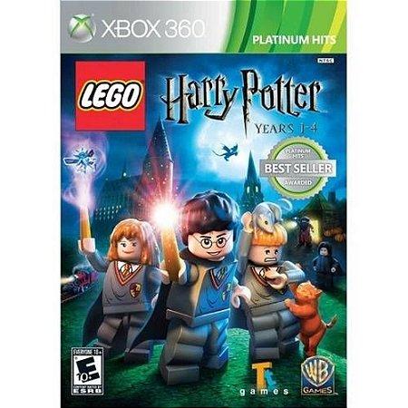 Jogo XBOX 360 Usado LEGO Harry Potter Years 1-4