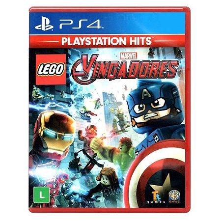 Jogo PS4 Novo LEGO Vingadores