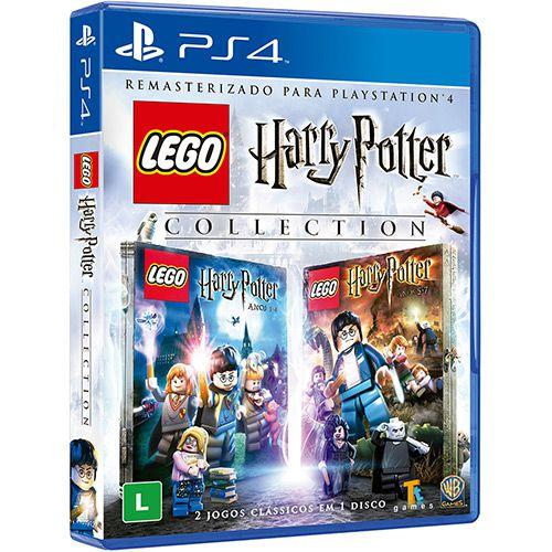 Jogo PS4 Novo LEGO Harry Potter Collection