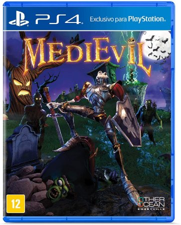 Jogo PS4 Usado Medievil