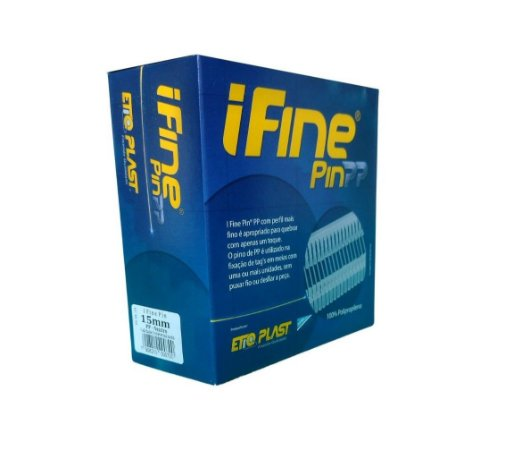 I Fine Pin 15mm Etiqplast - Caixa c/ 5.000 und