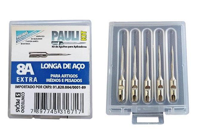 Kit Agulha Fine Aço 8A