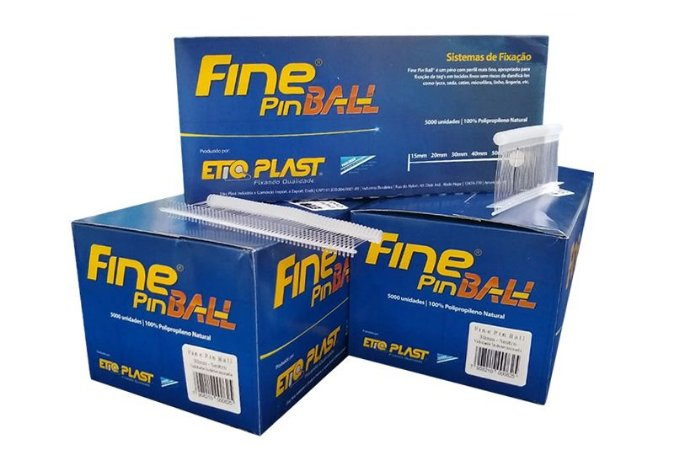 Fine Pin Ball 30mm EtiqPlast - Caixa c/ 5.000 und