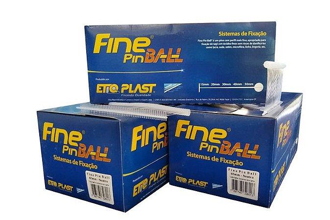 Fine Pin Ball 40mm EtiqPlast - Caixa c/ 5.000 und