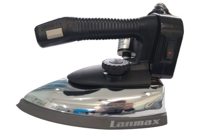 Ferro de Passar à Vapor Industrial 2KG - Lanmax