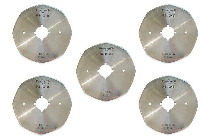 Kit Disco de Corte 4'' - 5 unidades