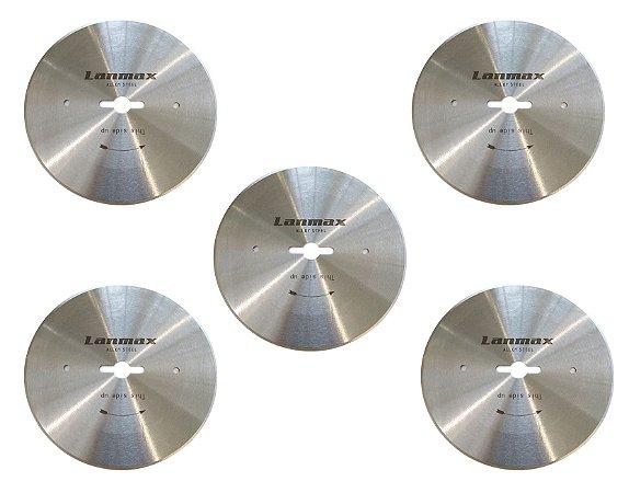 Kit Disco de Corte p/ Máq Fim de Enfesto 4'' - 5 unidades