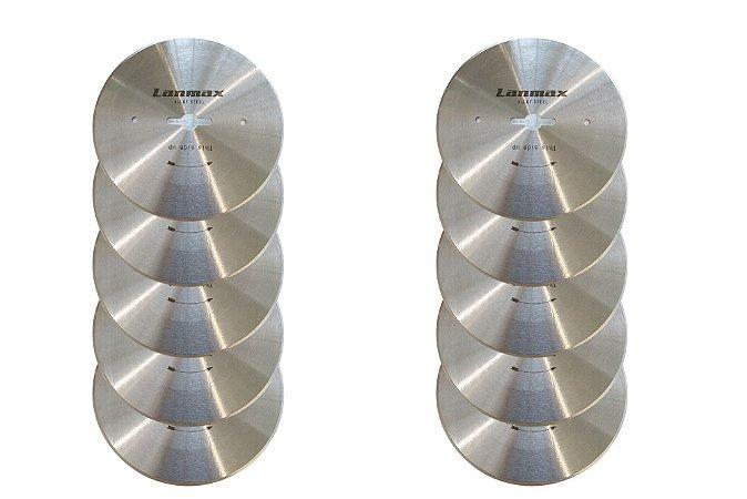 Kit Disco de Corte p/ Máq Fim de Enfesto 4'' - 10 unidades