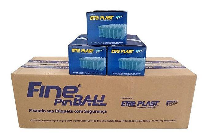 Fine Pin Ball 40mm EtiqPlast - Caixa Master c/ 50.000 und