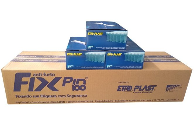Fix Pin 80mm EtiqPlast - Caixa Master c/ 50.000 und
