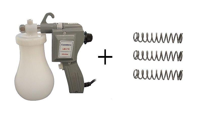Kit Pistola Lanmax + 3 Molas