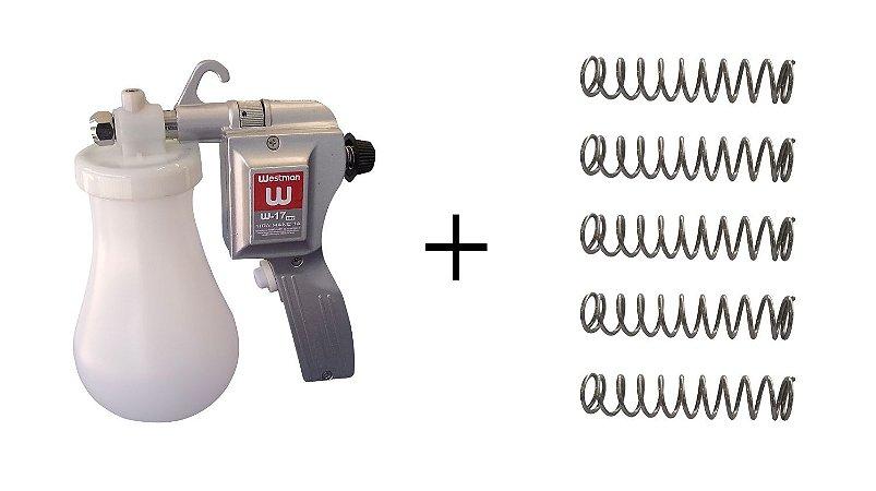 Kit Pistola Westman + 5 Molas