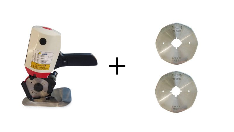Kit Máquina De 4'' + 2 Discos
