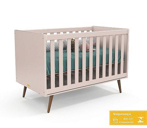 Berço de Bebê Retrô Rose Eco Wood Matic