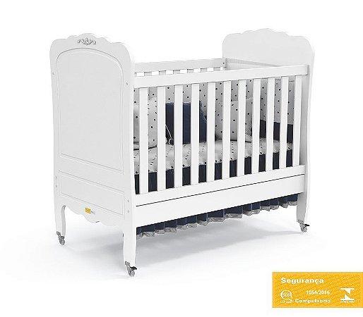 Berço de Bebê Provence Branco Soft Matic