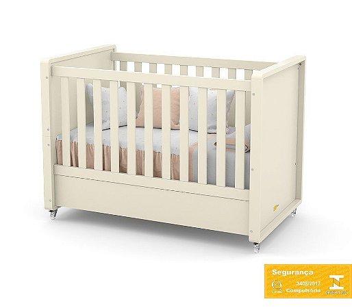 Berço de Bebê Tutto New Off White Matic