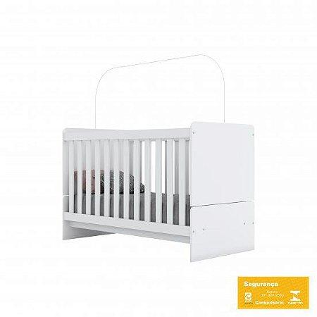 Berço de Bebê Labirinto Branco Henn