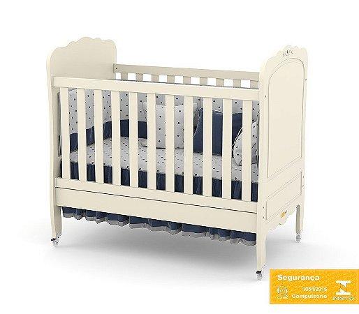 Berço de Bebê Provence Off White Matic