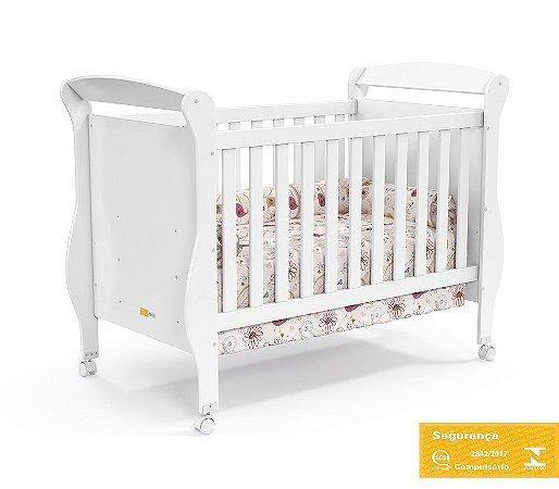 Berço de Bebê Smart Branco Soft Matic