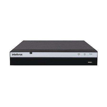 NVD Intelbras 8 Canais Para Câmeras Ip Nvd 3108 P