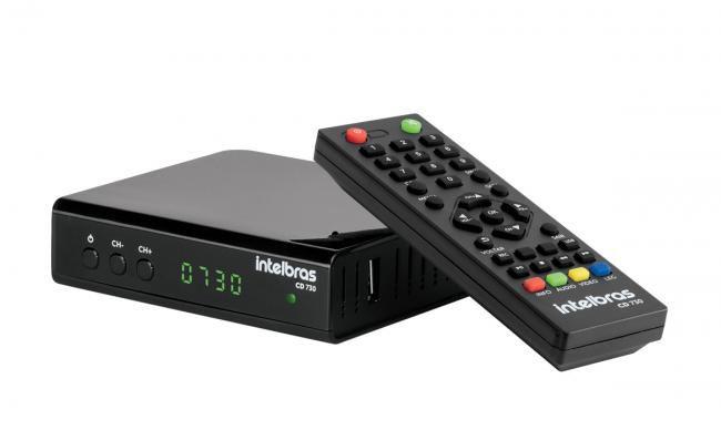 Conversor Digital Intelbras para TV CD 730