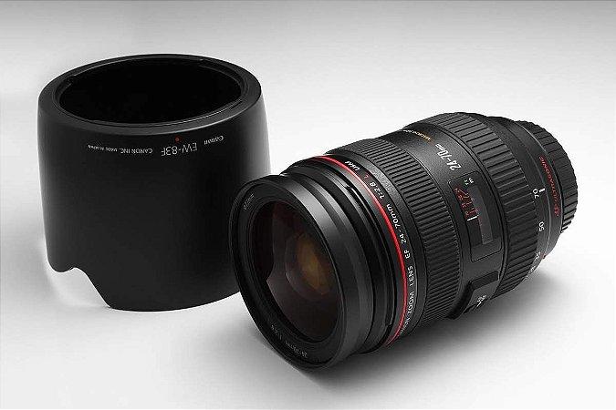 Diária da Lente Canon 24-70mm F 2.8 L