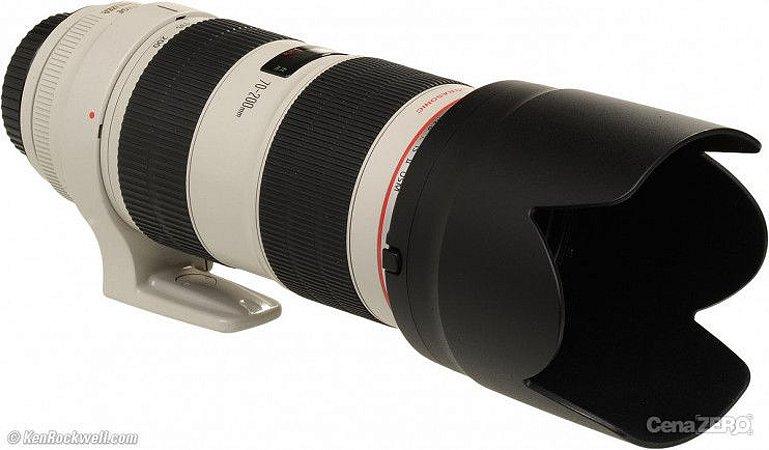 Diaria da LENTE CANON EF 70-200mm  F: 2.8