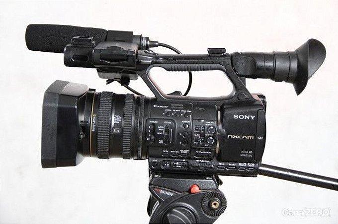 Diária de Kit FILMADORA ( NX5 + 2 baterias + AC + Tripe + cartao 32GB)