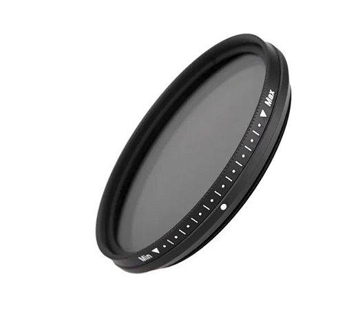 Filtro ND 77mm (densidade neutra variável 2 Até 400)  FOTGA