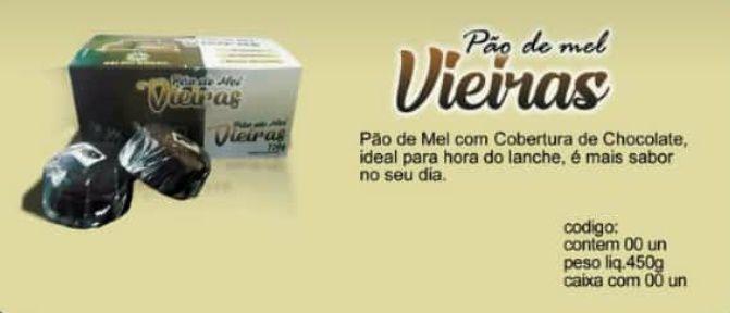 PÃO DE MEL RECHEADO DISPLAY COM12UN
