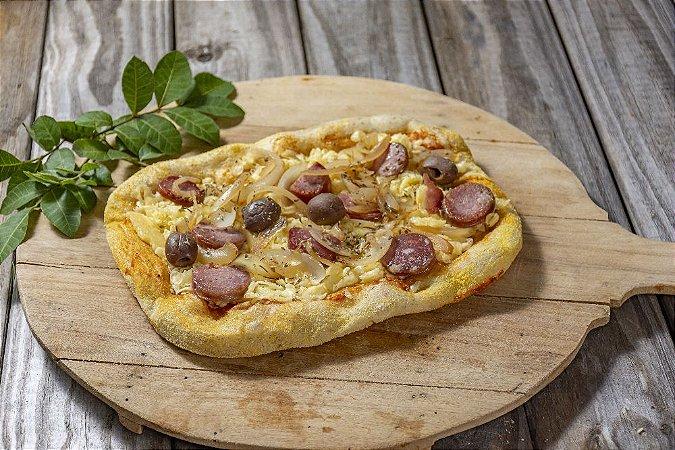 Pizza Levain Calabresa Com Cebolas Pequena
