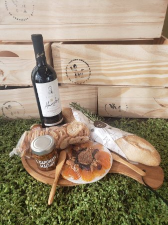 Cesta de Presente Tábua e Vinho - Wine Time