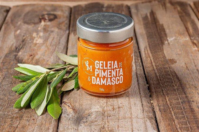 Geleia Pimenta e Damasco 150 g