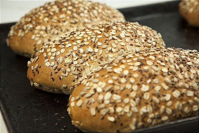 Pão de Aveia e Girassol