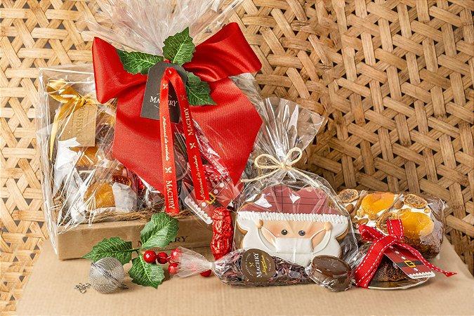 Cesta Celebrar Noel e Chá