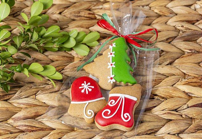 Biscoito de Mel Árvore - Kit com 5 unidades
