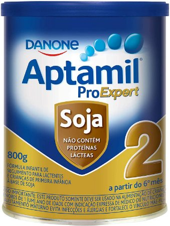 FÓRMULA INFANTIL APTAMIL PROEXPERT SOJA 2 800G