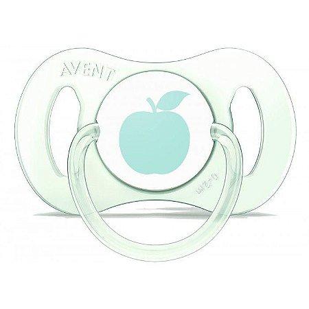 Mini Chupeta AVENT 2 Meses Single Verde